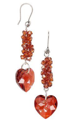 Earrings with Swarovski Crystal