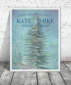 Winter Wonderland Personalized Poster $38
