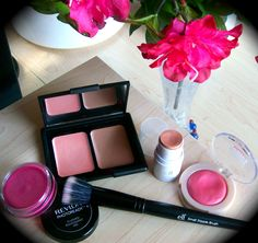 cream blushes to try! want the one in hot tamale