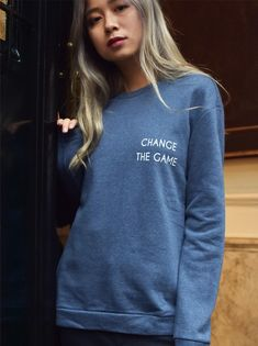 We live in a society where we can make a difference, so choose wisely. Simply, because you can. This soft and organic cotton sweatshirt will keep you warm,so you can turn off the heat and save som…