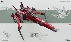 concept ships: Spaceship concepts by KaranaK