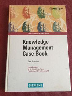 Davenport, Tom and Gil Knowledge Management, Best Practice, Books, Ebay, Economics, Science, Livros, Book, Livres