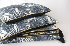 coussins et plaids Textiles, Plaid, Creations, Hats, Fashion, Cushions, Objects, Gingham, Moda