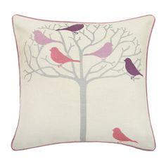 Thomas Paul Tweeter Violet Linen Pillow - love these colors!