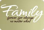 Without my family, (including my parents) -- I am not sure where I would be if I didn't have them..<3 them so very much!!