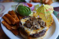delicious cheese burger....