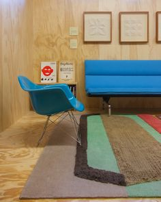 Doug Meyer interior, Doug & Gene Meyer rug @ Holland & Sherry