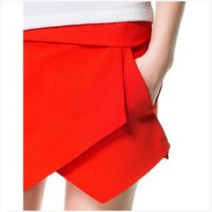 Imitate the famous origami skort by Zara!