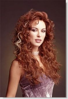 Sultry curls with tremendous volume