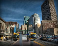 MetroTransit Light Rail at the Warehouse District/Hennepin Ave station in downtown Minneapolis.
