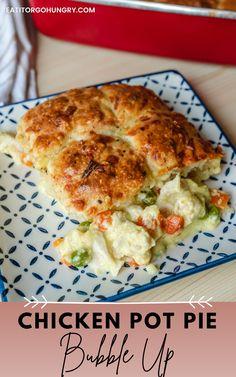 Pie Recipes, Casserole Recipes, Whole Food Recipes, Dinner Recipes, Fall Recipes, Chicken Pot Pie Casserole, Cooked Chicken Recipes, Meal Prep Plans