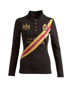 MERRINGTON Womens Long Sleeved Polo