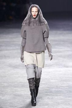 Rick Owens | Коллекции осень-зима 2011/2012 | Париж | VOGUE