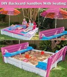 It's Time To Make A Nice Sandbox For Your Kids.