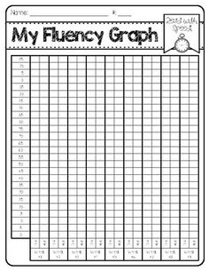Tracking data is such a powerful tool for students! Enjoy these FREE fluency graphs, and watch your students improve as readers by using them! Reading Tutoring, Reading Fluency, Reading Intervention, Teaching Reading, Guided Reading, Guided Math, Reading Lessons, Reading Skills, Reading Resources