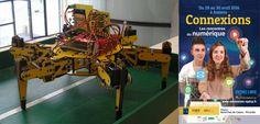 J-2 Robot Hexapode : problématique du déplacement des robots en milieu difficile #Connexions #Amiens