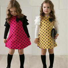 $5.15 (Buy here: https://alitems.com/g/1e8d114494ebda23ff8b16525dc3e8/?i=5&ulp=https%3A%2F%2Fwww.aliexpress.com%2Fitem%2FNew-2015-Spring-Dot-Girls-Dresses-Children-s-Clothes-Children-s-Princess-Gauze-Clothes-Girl-Dress%2F32603817724.html ) New 2017 Spring Dot Girls' Dresses, Children's Clothes, Children's Princess Gauze Girl Dress Clothes for just $5.15
