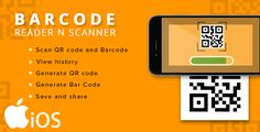 iOS - QR/BAR CODE SCANNER AND BUILDER
