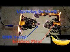 Making Lichtenberg device for burning wood - YouTube