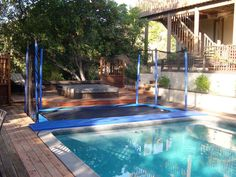 Artistic One Home Ideas Diy Toger Together With In Ground Trampoline  Retaining Wall All Trampoline