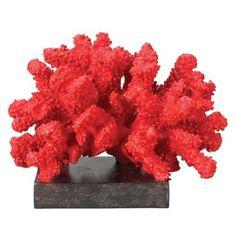 Decorative coral in bright colors!