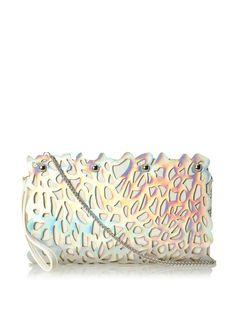 Nila Anthony Women's Hologram Clutch, Silver, http://www.myhabit.com/redirect/ref=qd_sw_dp_pi_li?url=http%3A%2F%2Fwww.myhabit.com%2Fdp%2FB00ICHZ7XI