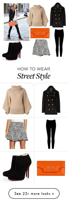 """Untitled #132"" by beastblade on Polyvore featuring GUESS, Burberry, Polo Ralph Lauren, Harrods, Warehouse and Christian Louboutin"