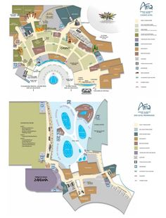 Caesars Palace Casino Property Map Floor Plans Las Vegas Las
