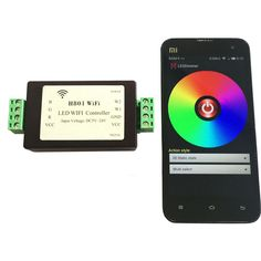 RGBW RGBWW LED Strip Light WiFi Controller Dimmer ESP8266 (Android WLAN) 1 Port Controls 200 Lights Output 5 Routes PWM Data