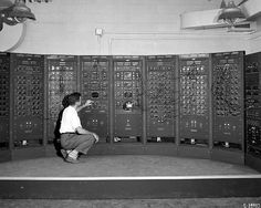 Analog Computing Machine in Fuel Systems Building | Flickr