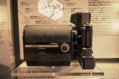 AF-Nikkor 80mm f/4.5 de 1971 monté sur un Nikon F2 à viseur sportif
