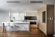 The Maker are industry leaders in the design and manufacture of luxury kitchens in Western Australia. Visit our list of kitchen design styles for inspiration in your next beautiful kitchen. Interior Decorating, Interior Design, Luxury Kitchens, Beautiful Kitchens, Perth, Industrial Style, Kitchen Design, House Styles, Table