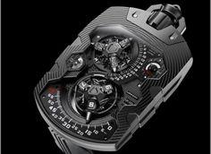 The über-cool URWERK UR-1001 Pocket Watch