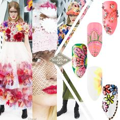 The Spring/Summer 2015 Couture catwalks were all about going back to nature with garden party inspired wild blooms and blossoms, smothered puff sleeves, feathers and bamboo. Engage in Mother Nature's designs with Bio Sculpture® Gel creations.