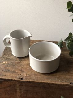 Excited to share this item from my shop: Natural white Höganäs creamer / milk jug/and sugar bowl Scandinavian minimalism retro Sweden Milk Jug, Sugar Bowl, Sweden, Scandinavian, Minimalism, Gadgets, Etsy Shop, Plates, Dishes