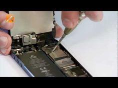 ▶ Vervangen batterij iPhone 5 - www.Parts-Repair.nl - Menko Ubbens - YouTube
