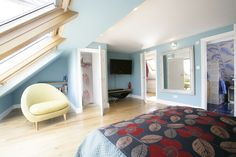 Econoloft is a leading loft conversion company with over 40 years experience, covering Bromley, London & the Home Counties. Modern Master Bedroom, Inside Me, Lofts, Attic, Bedrooms, Interiors, Storage, Home Decor, Loft Room