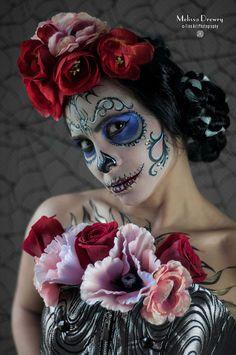 15 Examples of Dia de Los Muertos Make-up Art #design #fotografia - El Rincón de Lombok