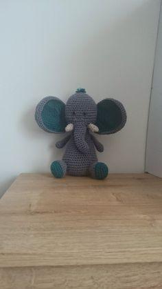 Victor the elephant crochet pattern **Pattern only** by KrigsCrochet on Etsy