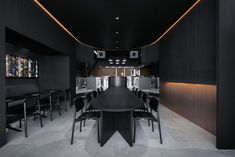 Burnside, il ristorante total black di Snøhetta | DESIGN STREET