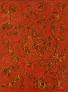 Abstraction #12 - Beauford Delaney Oil on canvas