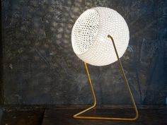 Acheter en ligne Trama t1 By in-es.artdesign, lampe de table en laine, Collection trame