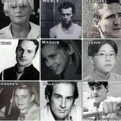 Before They were on The Walking Dead!!