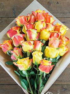 Twin Colour Roses £35.00 Flowers Direct, Flower Art, Vegetables, Rose, Twin, Colour, Flowers, Color, Art Floral