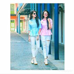 Indian Fashion, Love Fashion, Girl Fashion, Fashion Outfits, Stylish Girls Photos, Stylish Girl Pic, Western Outfits, Western Wear, Best Friend Outfits