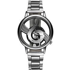 Mens Band Watch Creative Music Quartz Click Image For More Details