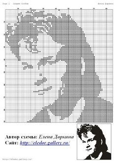 Patrick Swayze x-stitch Cross Stitch Love, Cross Stitch Charts, Cross Stitch Designs, Cross Stitch Patterns, Plastic Canvas Crafts, Plastic Canvas Patterns, Crochet Chart, Filet Crochet, Loom Patterns