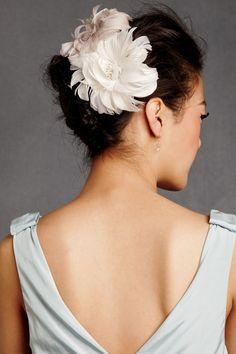 Perennial Plumage Hairpins @bhldn.com