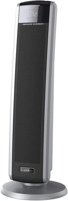 Lasko 5586 Digital Ceramic Tower Heater with Remote, Dark Grey Best Space Heater, Tower Heater, Dark Grey, Home Kitchens, Remote, Home Appliances, Ceramics, Digital, House Appliances