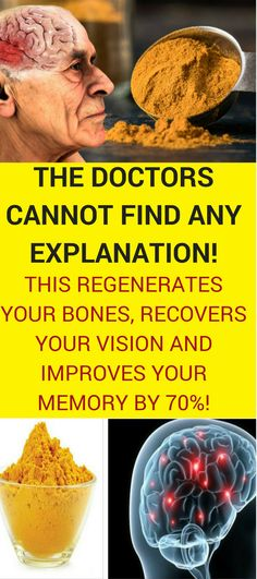 These natural tips will help you strengthen your memory, as well as make your brain work faster and regenerate your bones. Try them in your daily diet and you will not regret it! Natural remedies | Natural medicine | Remedies natural | Natural cure | Natural herbal remedies | Natural health remedies